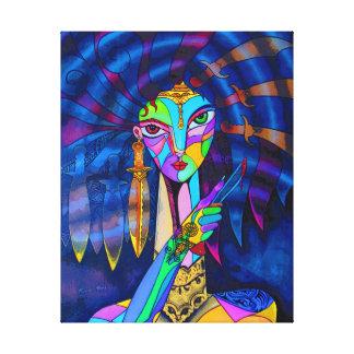 Princess of Death. Canvas Print
