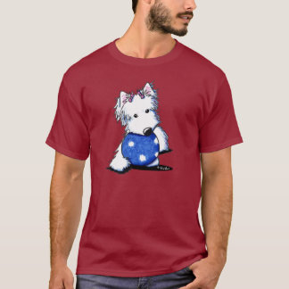 Princess Of The Ball Westie T-Shirt