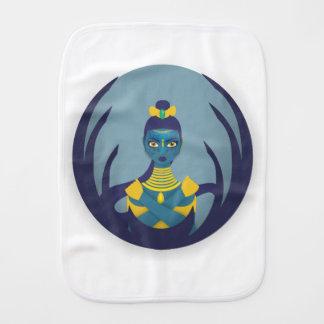Princess of the moon burp cloth