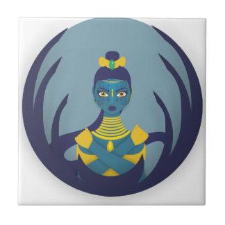 Princess of the moon ceramic tiles