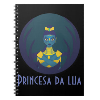 Princess of the moon notebook
