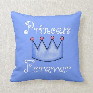 Princess Pals (Blue collection) Throw Pillow