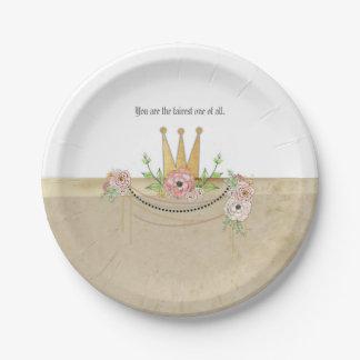Princess Paper Plates