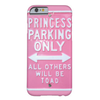 Princess parking only barely there iPhone 6 case