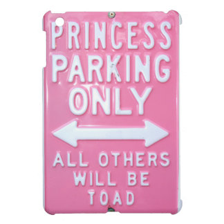Princess parking only iPad mini case
