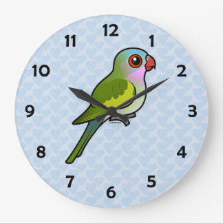 Princess Parrot Large Clock