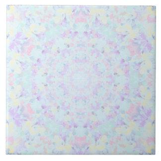 Princess Pastel Mandala Tile