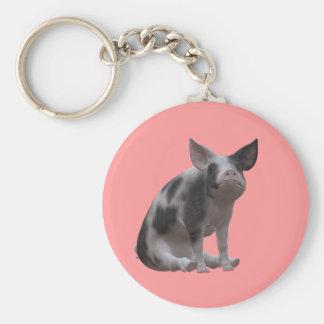 Princess Piggy Keychain
