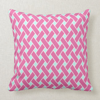 Princess Pink Pattern Throw Pillow