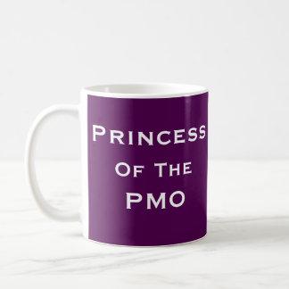 Princess PMO Woman Project Manager Funny Name Coffee Mug