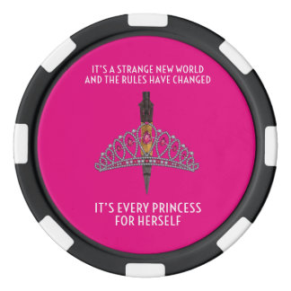 Princess Poker Chips