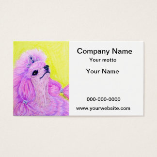 Princess Poodle Business Card