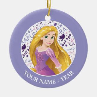 Princess Rapunzel | Rapunzel Add Your Name Ceramic Ornament