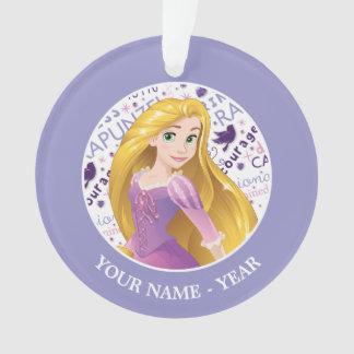 Princess Rapunzel | Rapunzel Add Your Name Ornament