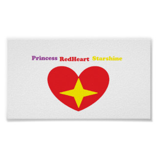 Princess Redheart Starshine Poster