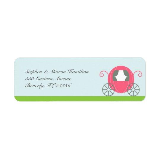 Princess Return Address Labels