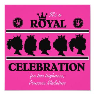 Princess Royal Celebration Birthday Invitation