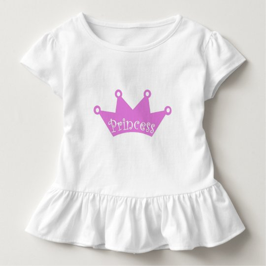 Princess ruffle toddler t-shirt
