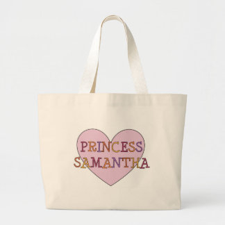 Princess Samntha Large Tote Bag