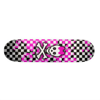 Princess Skull Girls Skateboard