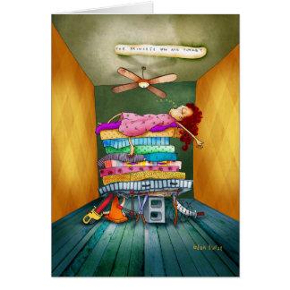 Princess Sleeps-a-lot Card