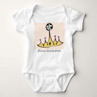 Princess Smarty Pants Baby Bodysuit