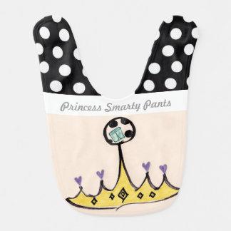 Princess Smarty Pants Bib