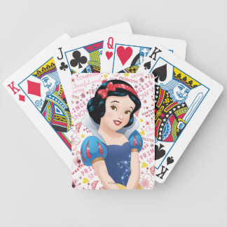 Princess Snow White Poker Deck