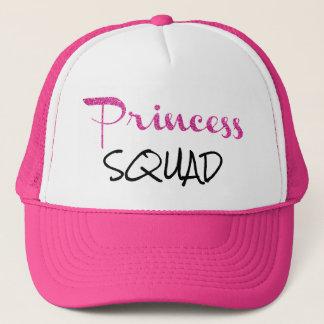Princess Squad Pink Glitter Trucker's Hat