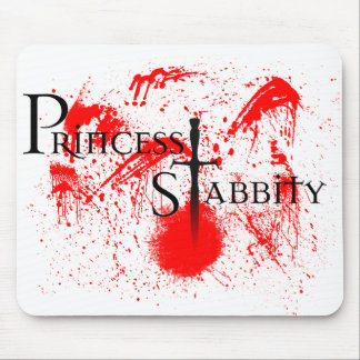 Princess Stabbity Mouse Pad