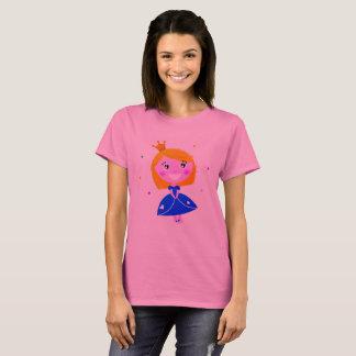 Princess t-shirt pink with Drawing