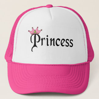 Princess Text with Crown Trucker Hat