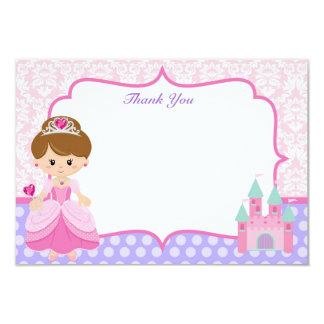Princess Thank You Cards