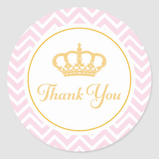 Princess Thank You Tag