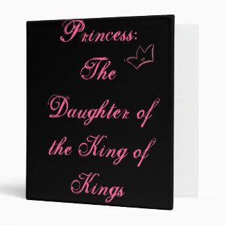 Princess: The Daughter of the King of Kings Vinyl Binder