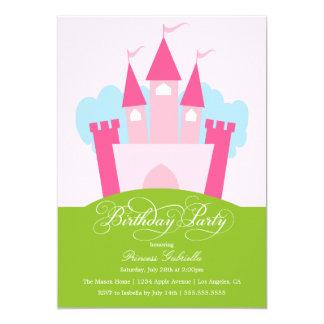 Princess Themed Birthday Party Invitation