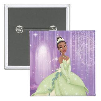 Princess Tiana 2 Inch Square Button