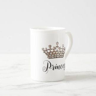 """Princess"" Tiara Design Tea Cup"