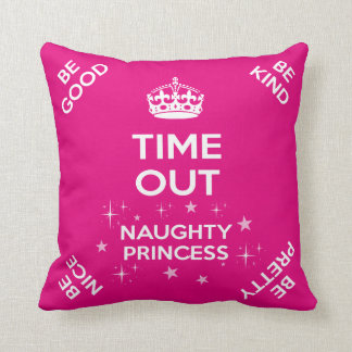 Princess Time Out/Naughty Seat Cushion