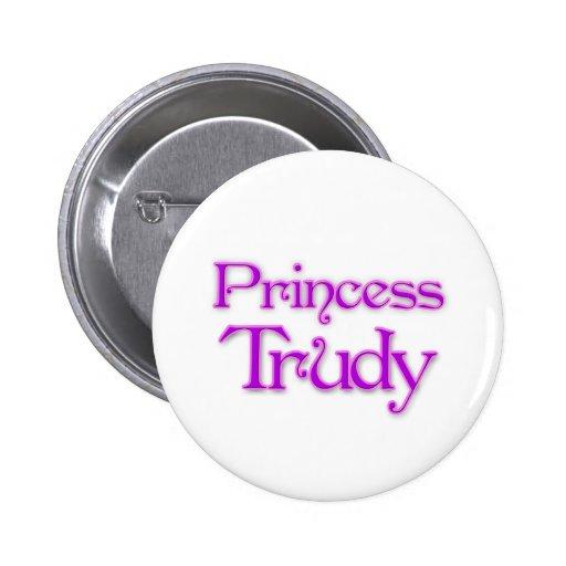 Princess Trudy Button