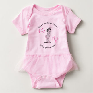 Princess Tutu Body Suite Baby Bodysuit