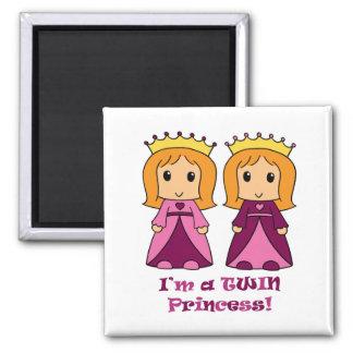 Princess Twins Magnet