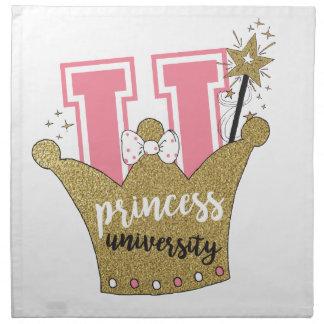 Princess University Napkin