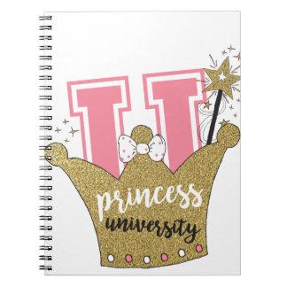 Princess University Notebook