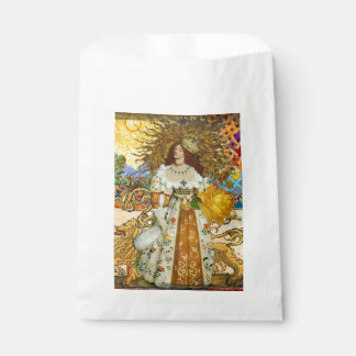 Princess Vintage Fantastical Surreal Beautiful Leo Favour Bag