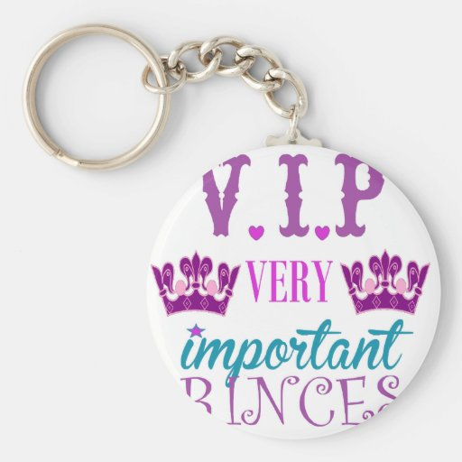 Princess, VIP Keychain