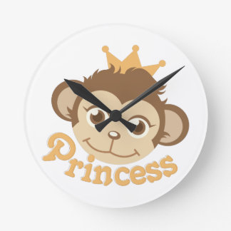 Princess Wallclock