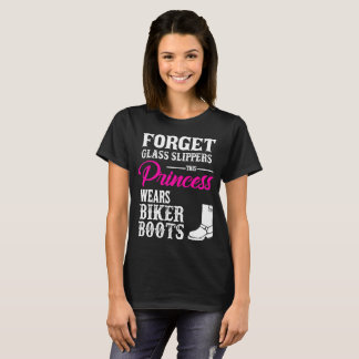 Princess Wears Biker Boots T-shirt