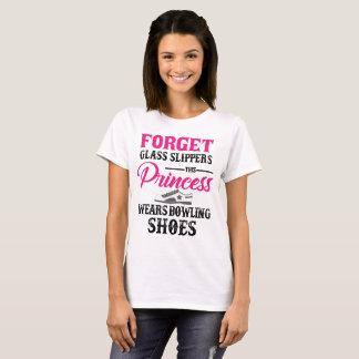 Princess Wears Bowling Shoes T-shirt