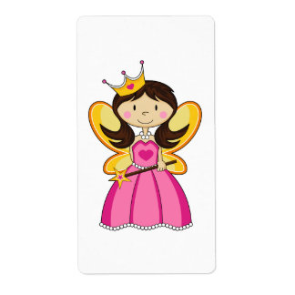 Princess with Wand Sticker